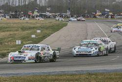 Leonel Sotro, Alifraco Sport Ford y Emiliano Spataro, UR Racing Dodge y Juan Marcos Angelini, UR Rac