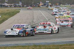 Jose Savino, Savino Sport Ford y Carlos Okulovich, Sprint Racing Torino y Matias Jalaf, Catalan Magn