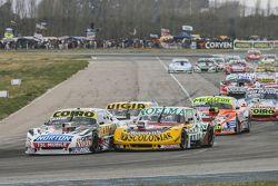 Martin Serrano, Coiro Dole Racing Dodge and Nicolas Bonelli, Bonelli Competicion Ford and Juan Manue