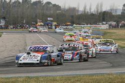 Jose Savino, Savino Sport Ford y Emanuel Moriatis, Alifraco Sport Ford y Carlos Okulovich, Sprint Ra