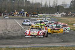 Juan Manuel Silva, Catalan Magni Motorsport Ford and Nicolas Bonelli, Bonelli Competicion Ford and J