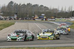 Gaston Mazzacane, Coiro Dole Racing Chevrolet y Omar Martinez, Martinez Competicion Ford y Diego de