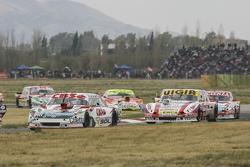 Carlos Okulovich, Sprint Racing Torino y Juan Manuel Silva, Catalan Magni Motorsport Ford con Jonata