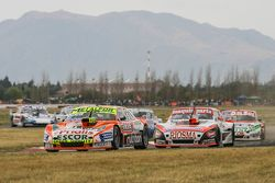 Jonatan Castellano, Castellano Power Team Dodge y Nicolas Trosset, Maquin Parts Racing Torino con Ju