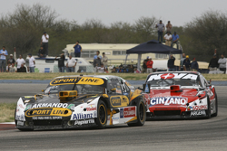 Leonel Pernia, Las Toscas Racing Chevrolet and Matias Rossi, Donto Racing Chevrolet