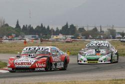 Pedro Gentile, JP Racing Chevrolet and Gaston Mazzacane, Coiro Dole Racing Chevrolet