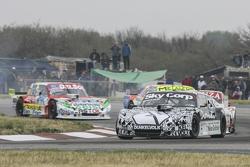 Laureano Campanera, Donto Racing Chevrolet and Matias Jalaf, Catalan Magni Motorsport Ford and Juan