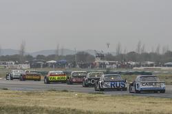 Laureano Campanera, Donto Racing Chevrolet and Matias Jalaf, Catalan Magni Motorsport Ford and Jonat
