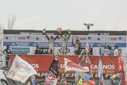 Podium #1 Leonel Pernia, Las Toscas Racing Chevrolet #2 Matias Rossi, Donto Racing Chevrolet #3 Josi