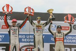 Podium: No. 1 Leonel Pernia, Las Toscas Racing Chevrolet Matias Rossi No. 2, No. 3 Chevrolet Racing