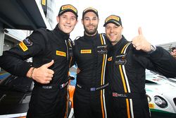 Vincitori Shane van Gisbergen, Rob Bell, Kevin Estre, Von Ryan Racing