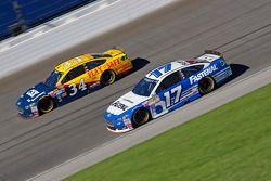 Ricky Stenhouse Jr., Roush Fenway Racing Ford and Brett Moffitt