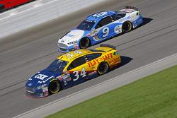 Brett Moffitt and Sam Hornish Jr., Richard Petty Motorsports Ford