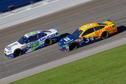 Brett Moffitt et Casey Mears, Germain Racing Chevrolet