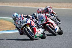 Sylvain Guintoli, Pata Honda et Niccolo Canepa, Althea Racing