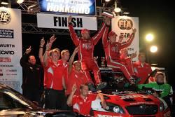Ganador: Pontus Tidemand y Emil Axelsson, Skoda Fabia S2000, Equipo MRF