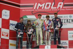 Podio Gara 2, Kevin Perez Kanayet, Malta Formula Racing, Alex Peroni, Torino Squadra Corse, Diego Be