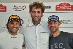 Conferenza Stampa: Paolo Andreucci, Peugeot Sport Italia, Giandomenico Basso, BRC, Umberto Scandola,