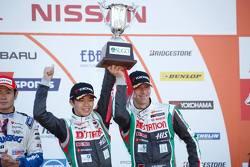 Terzo posto: Daiki Sasaki, Michael Krumm, D'station Advan Nissan GT-R