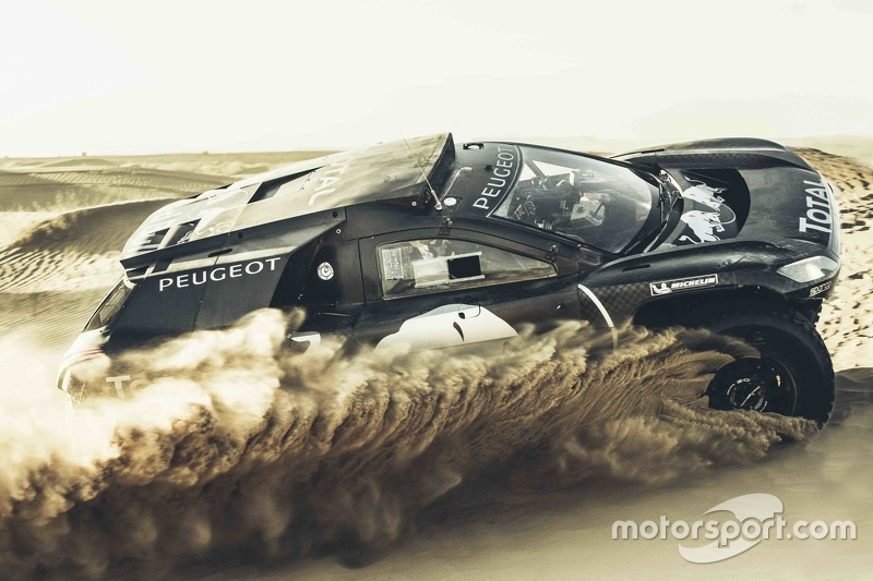 Carlos Sainz, Peugeot 2008 DKR16
