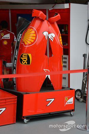 Le fiancate della Ferrari