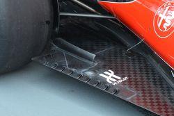Le fessure del fondo attuale della Ferrari