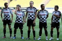 Star Team for Children VS National Team Drivers, Charity Football Match, Louis II StadiumAlbert II: