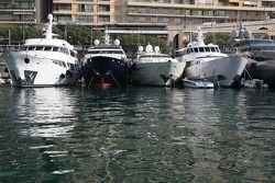 Boats in the port of Monaco