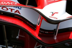Toyota Racing, front wing detail