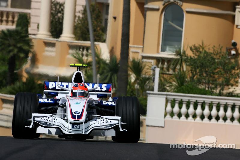 Robert Kubica, Grand Prix Monako 2007