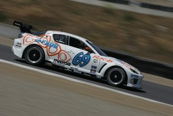 #69 SpeedSource Mazda RX-8: Emil Assentato, Nick Longhi