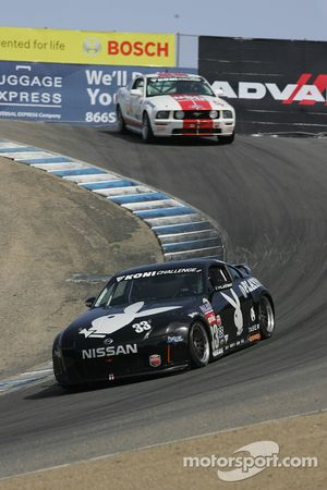 #33 Playboy Racing Unitech Nissan 350Z: Tommy Constantine, Mike Borkowski, David Murry