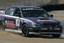 #93 GOTO Racing Subaru Legacy: Michael Neujahr, Chris Lock