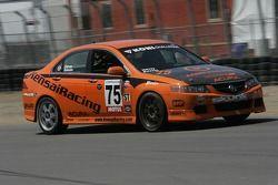 #75 Kensai Racing Acura TSX: Taz Harvey, Beau Buisson