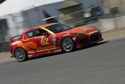 #62 Roar Racing Mazda RX-8: Chip Van Vurst, Evan Darling, Rob Whitener III