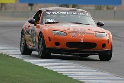 #56 BSI Racing/ Team Garcia Racing Mazda MX-5: Todd Buras, Carlos Garcia