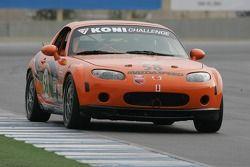 #58 BSI Racing/ Team Garcia Racing Mazda MX-5: Justin Hall, Magnus Karlsson