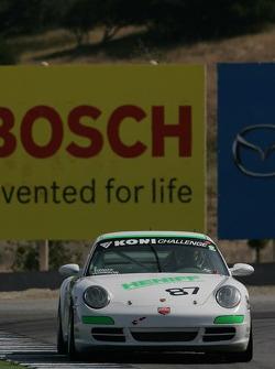 #87 LNS Motorsports Porsche 997: Mike Johnson, Bob Heniff