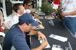 Richie Hearn, John Andretti et Kosuke Matsuura