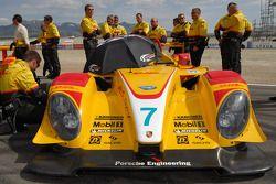 The #7 Penske Motorsports Porsche RS Spyder