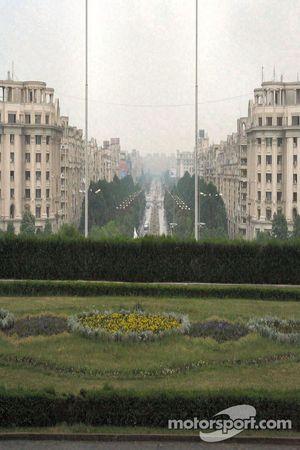 Vue depuis le Palais présidentiel