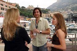 Amanda Holden, Actress, and her boyfriend Chris Hughes