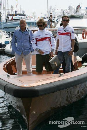 Jarno Trulli, Toyota Racing ve Franck Montagny, Test Pilotu, Toyota F1 Team