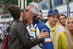 Slavica Ecclestone, Wife to Bernie Ecclestone and Flavio Briatore, Renault F1 Team, Team Chief, Managing Director