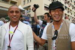 Roberto Carlos, Real Madrid, Football Player and Hidetoshi Nakata, Football Player