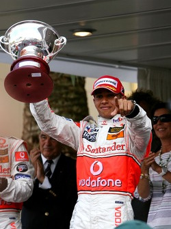 Podium: 2nd place Lewis Hamilton