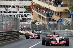 Fernando Alonso, McLaren Mercedes, MP4-22, Lewis Hamilton, McLaren Mercedes, MP4-22
