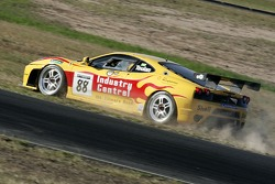 John Teulan loosing control of his Ferrari 430