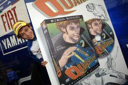 Valentino Rossi debuts his cartoon