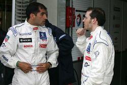Marc Gene y Jacques Villeneuve